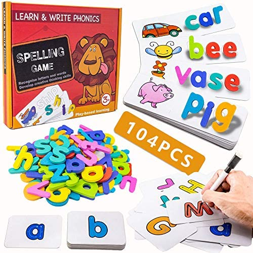 Spelling Game for Kids, See and Spell Write Learning ...